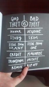 Austin Kleon: Good Theft vs. Bad Theft